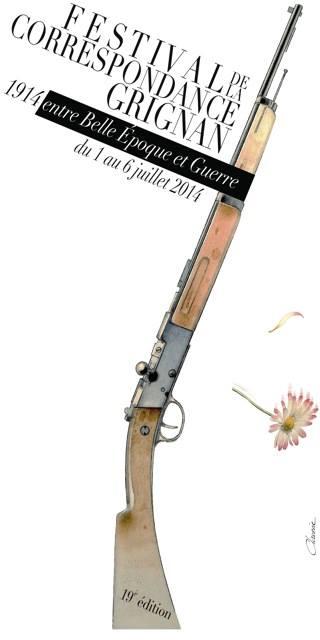 Grignan 2014 La Fleur Au Fusil Esprit Paillettes Porte Parole