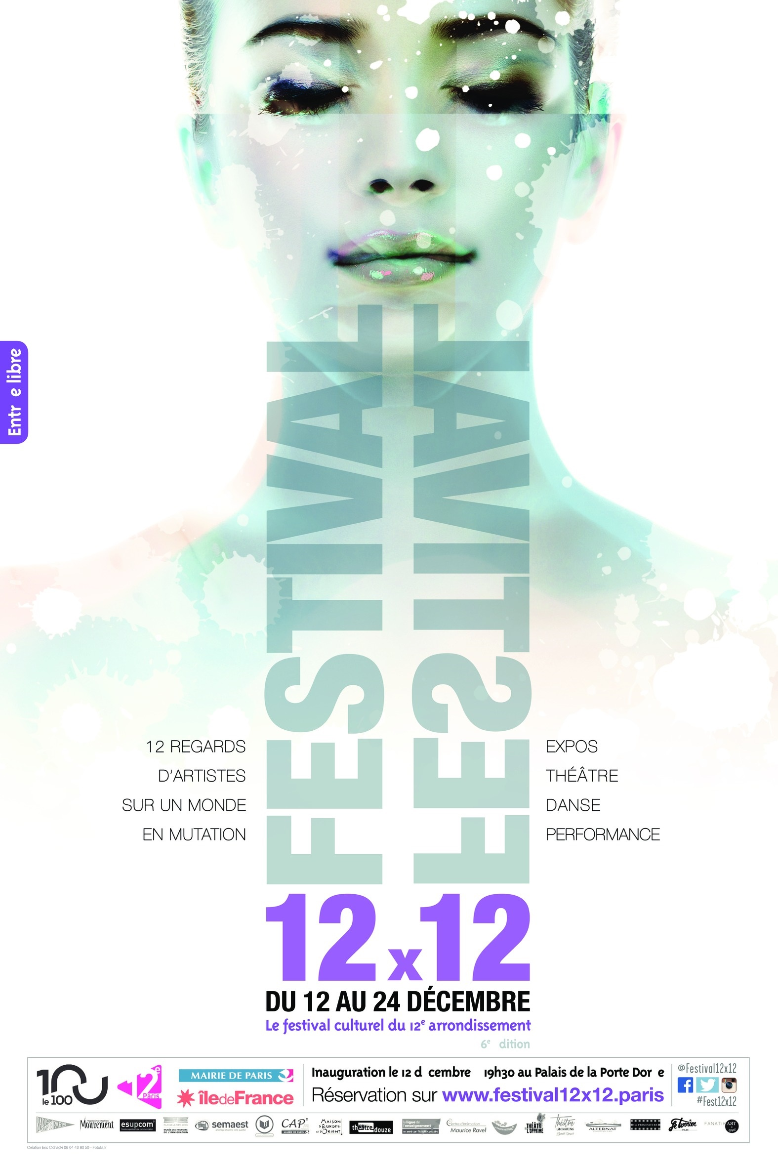 Affiche Festival 12x12