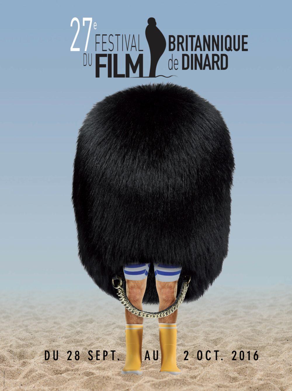 Affiche de la 27ème édition du Festival du Film de Dinard