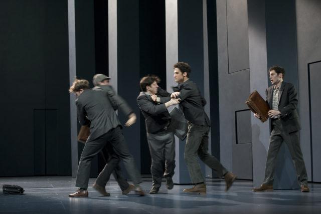 L'Eveil du Printemps de Wedekind  - Mise en scene Clement Hervieu-Leger - Salle Richelieu - Comedie-Francaise - avril 2018 -