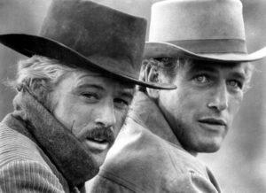Robert Redford - Paul Newman - Butch Cassidy et le Kid - Droits Réservés