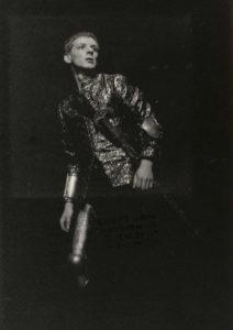 Tête d'or, CDN de Bordeaux, première photo de théâtre professionnelle : Dimitri a 18 ans...