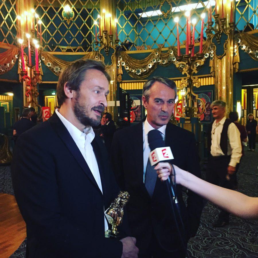 Eric Ruf et Ivo van Hove - Crédits photo - Esprit Paillettes