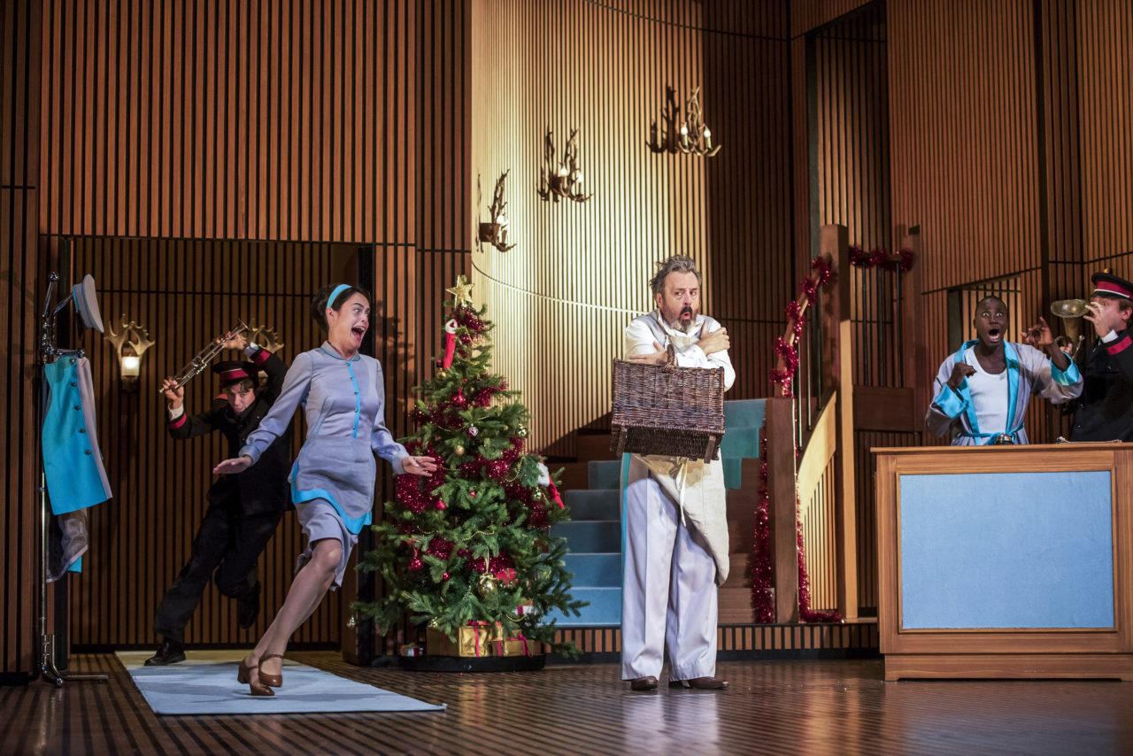 La Puce a l'oreille de Georges Feydeau - Mise en scene Lilo Baur - Comedie-Francaise - Salle Richelieu - Septembre  2019 - avec :